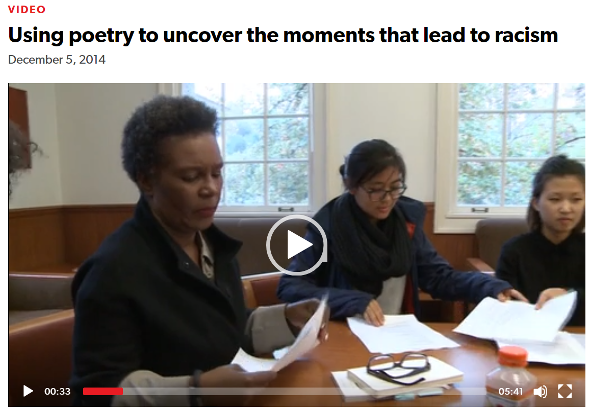 Snip-Using Poetry to Uncover Moments that Lead to Racism