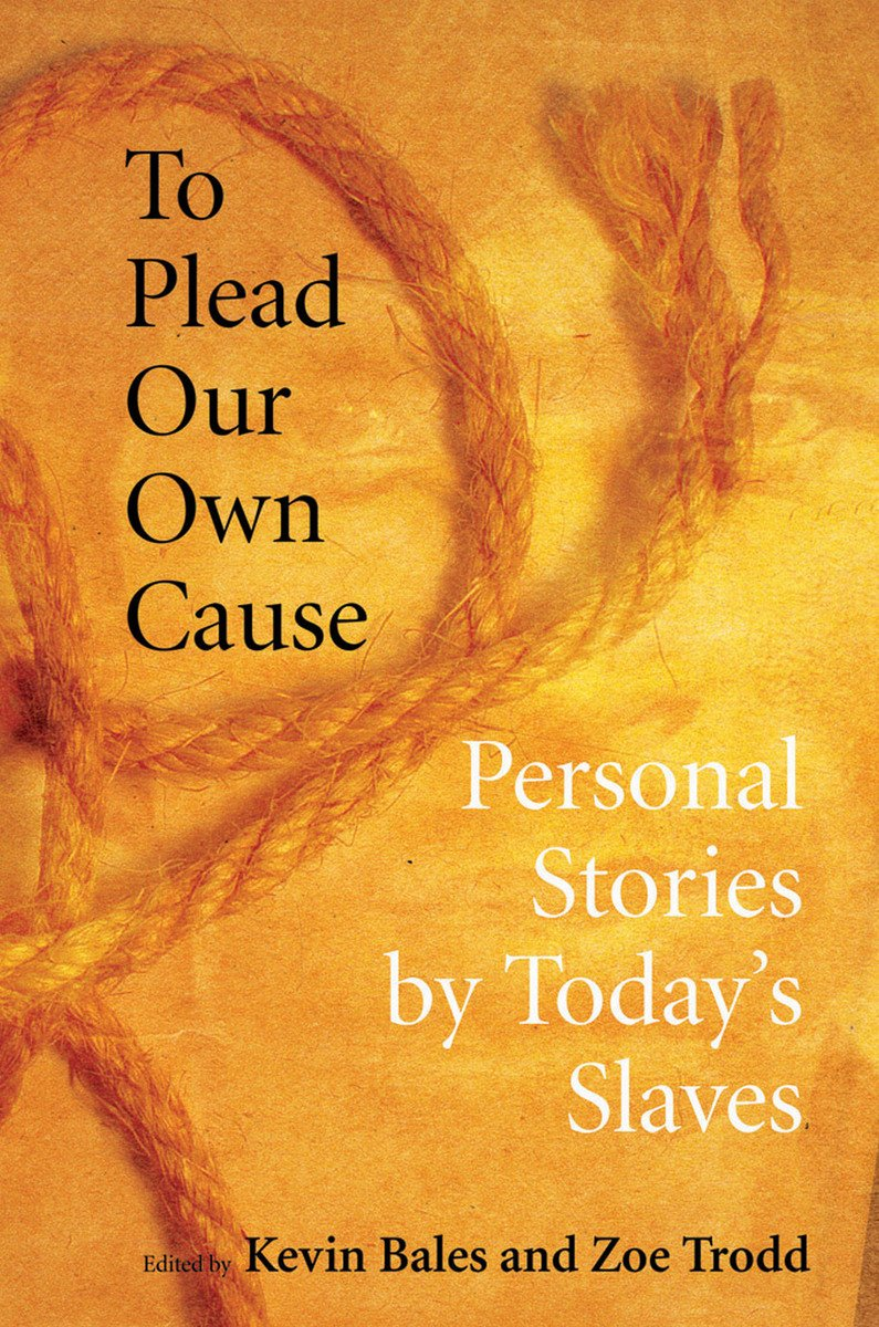 Book cover of To Plead Our Own Cause. Yellow-orange background with a rope.