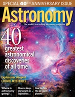 Cover for Astronomy print magazine.