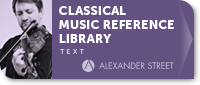 Classical Music Reference Library