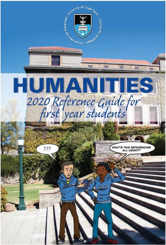 Link to First-Year Referencing Guide 2020 Download