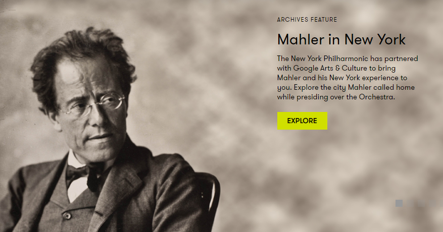 Mahler in New York