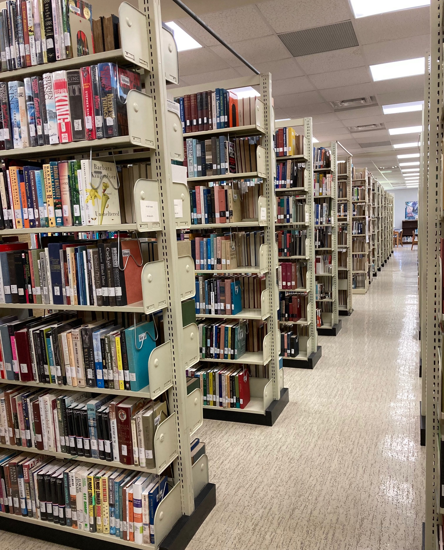 The E&H Kelly Library's main collection.