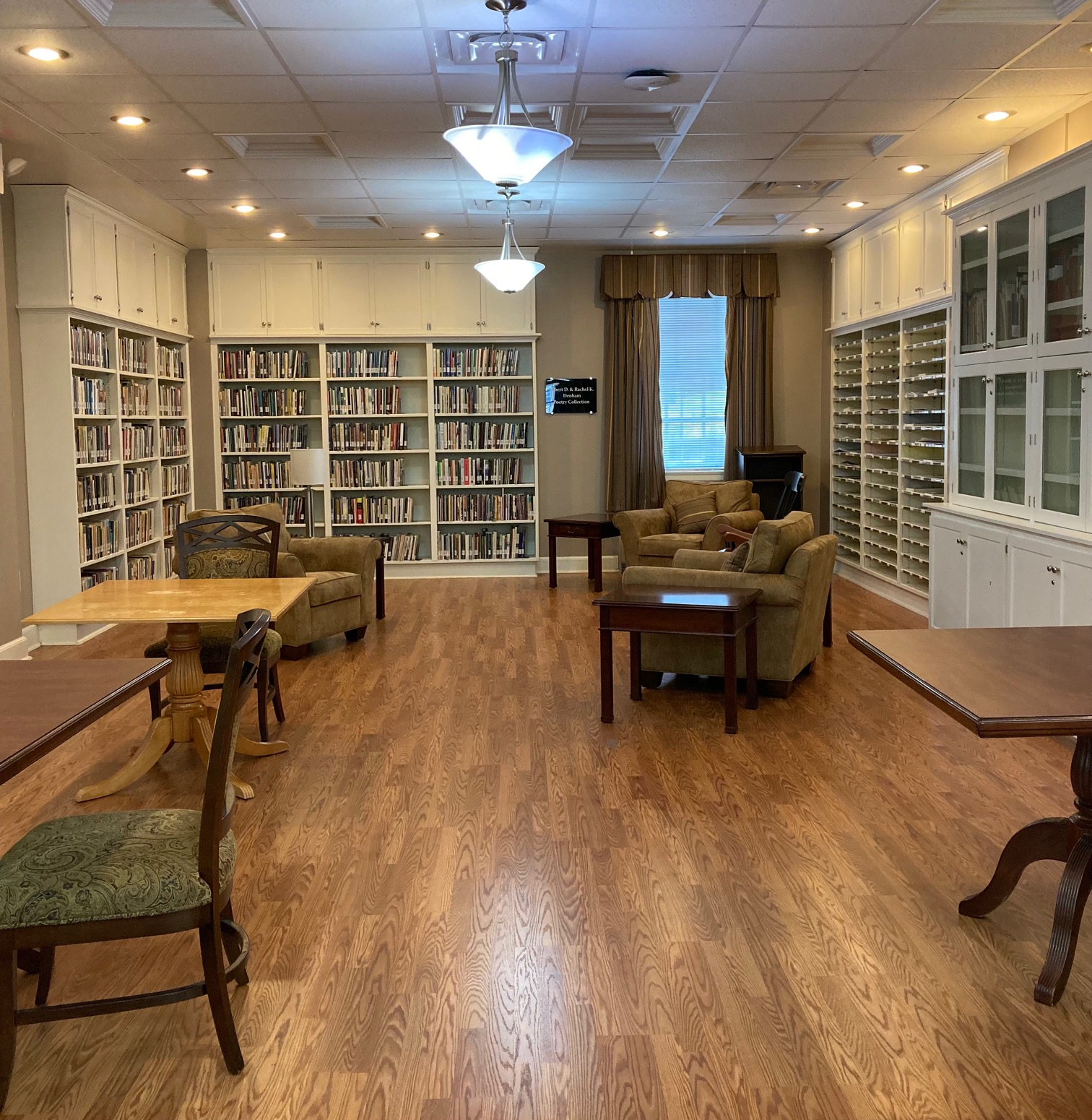 The Denham Poetry Room and Collection