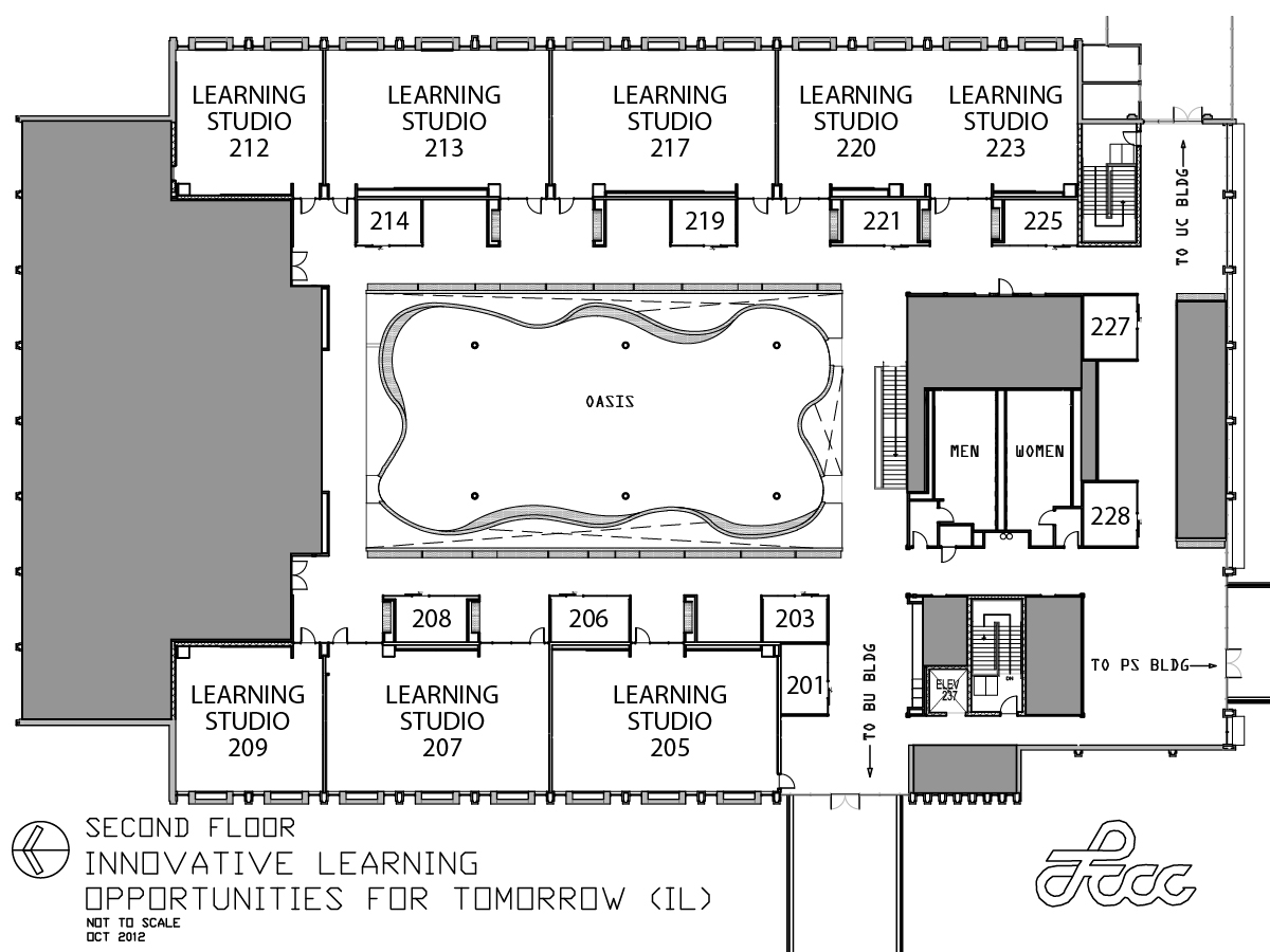 iLoft Second Floor Map
