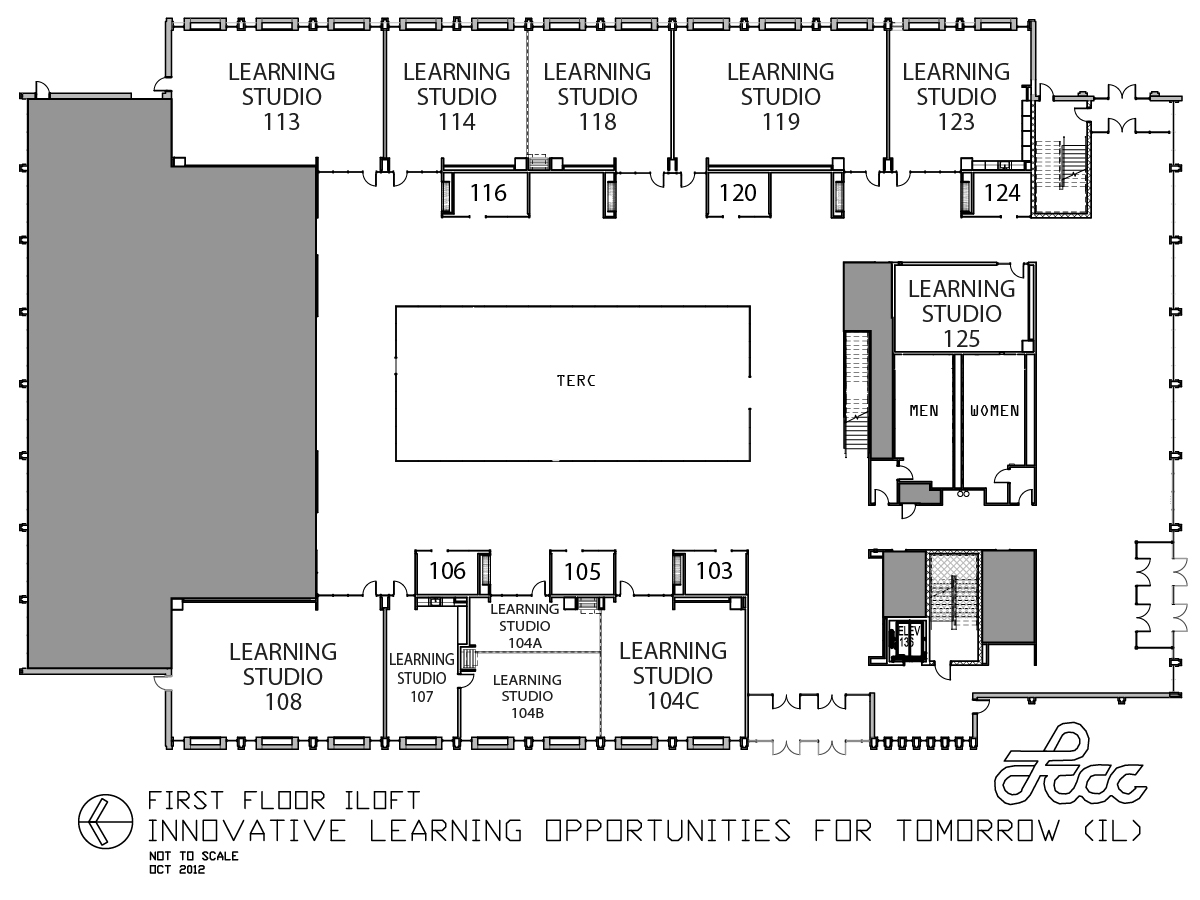 iLoft First Floor Map