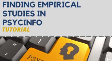 Finding Empirical Studies in Psycinfo Tutorial
