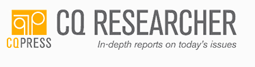 Screenshot of CQ Researcher homepage