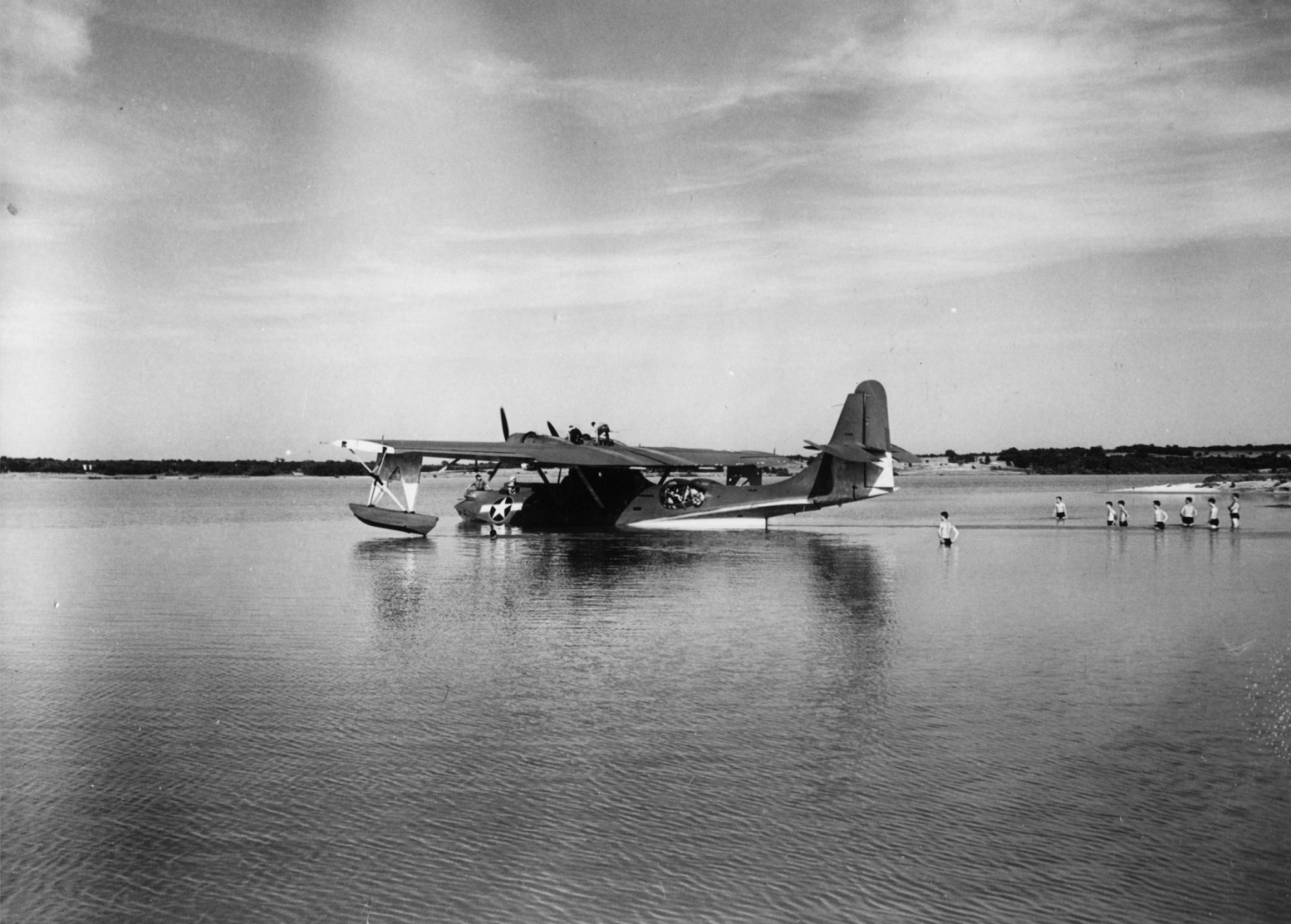 Consolidated PBY Catalina in Lake Worth 1942