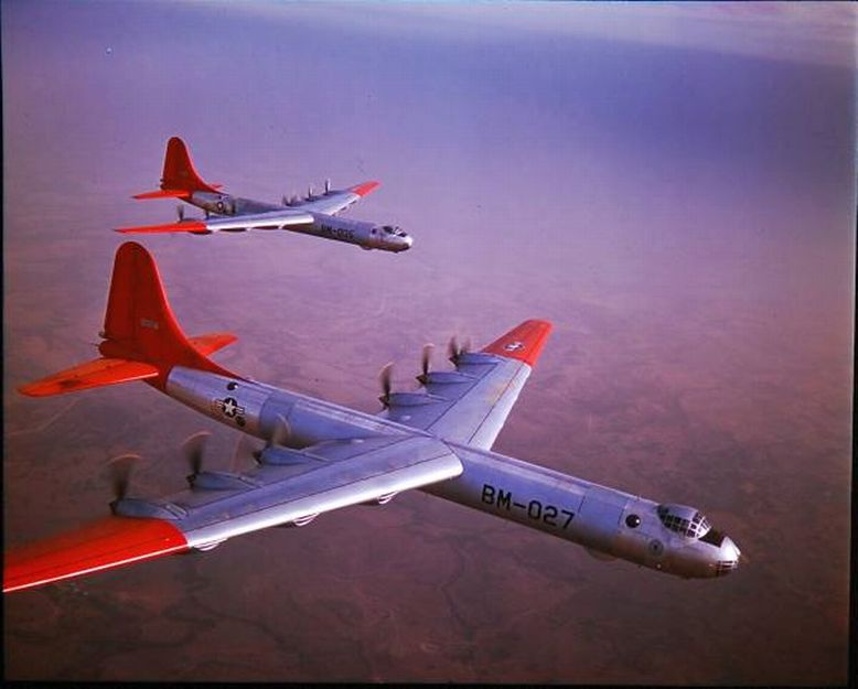 947 B-36 without jet packs