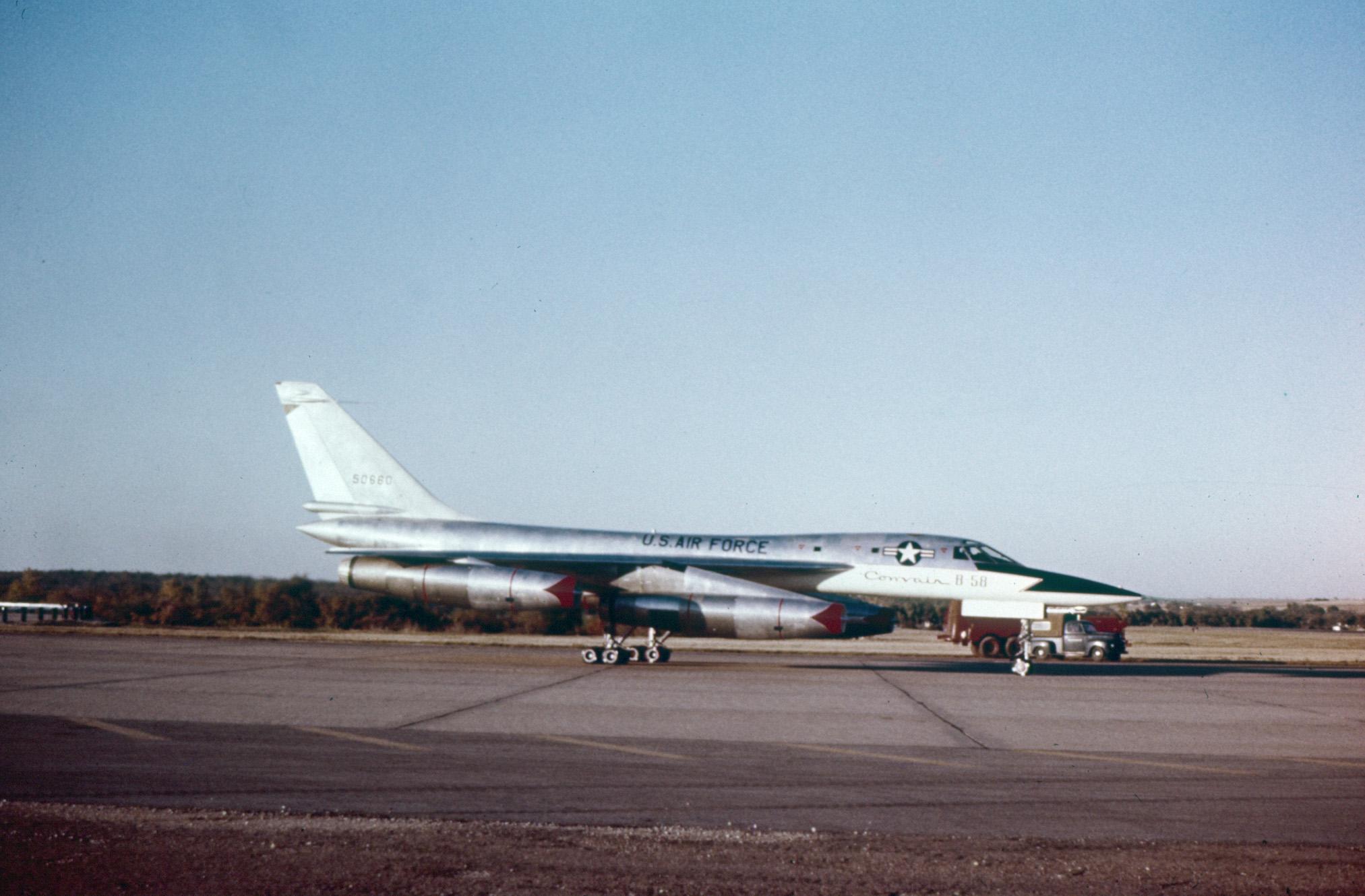 B-58 Hustler Long Range Bomber