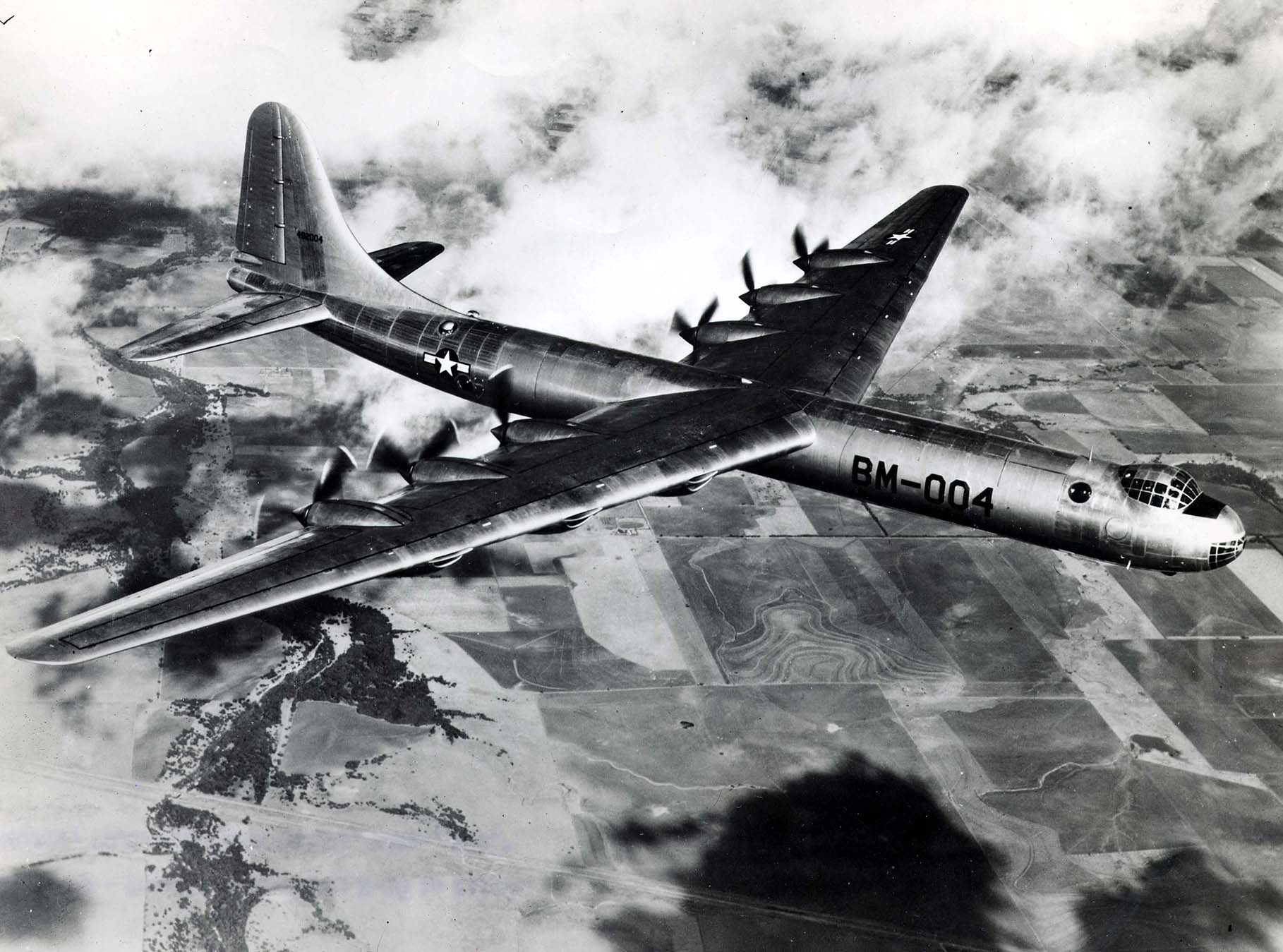 1947 B-36 without jet packs
