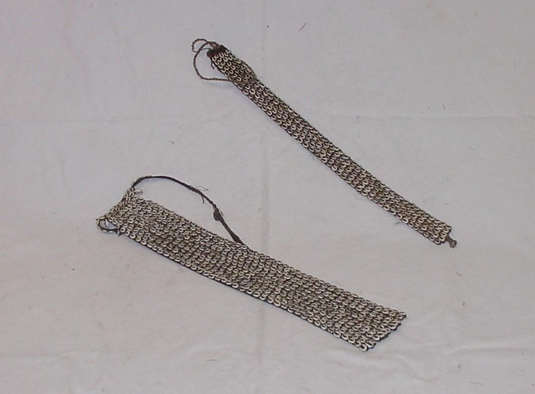 Cowire shell belts