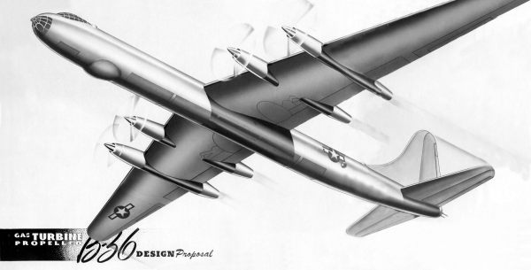 B-36 Concept Drawing 1946-1947