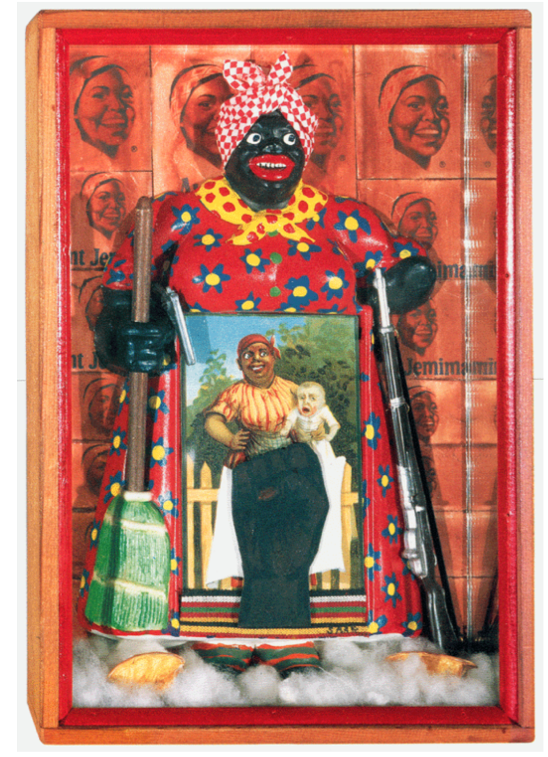 The art piece The Liberation of Aunt Jemima