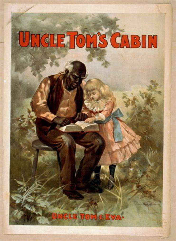 An image from the book Uncle Tom's Cabin