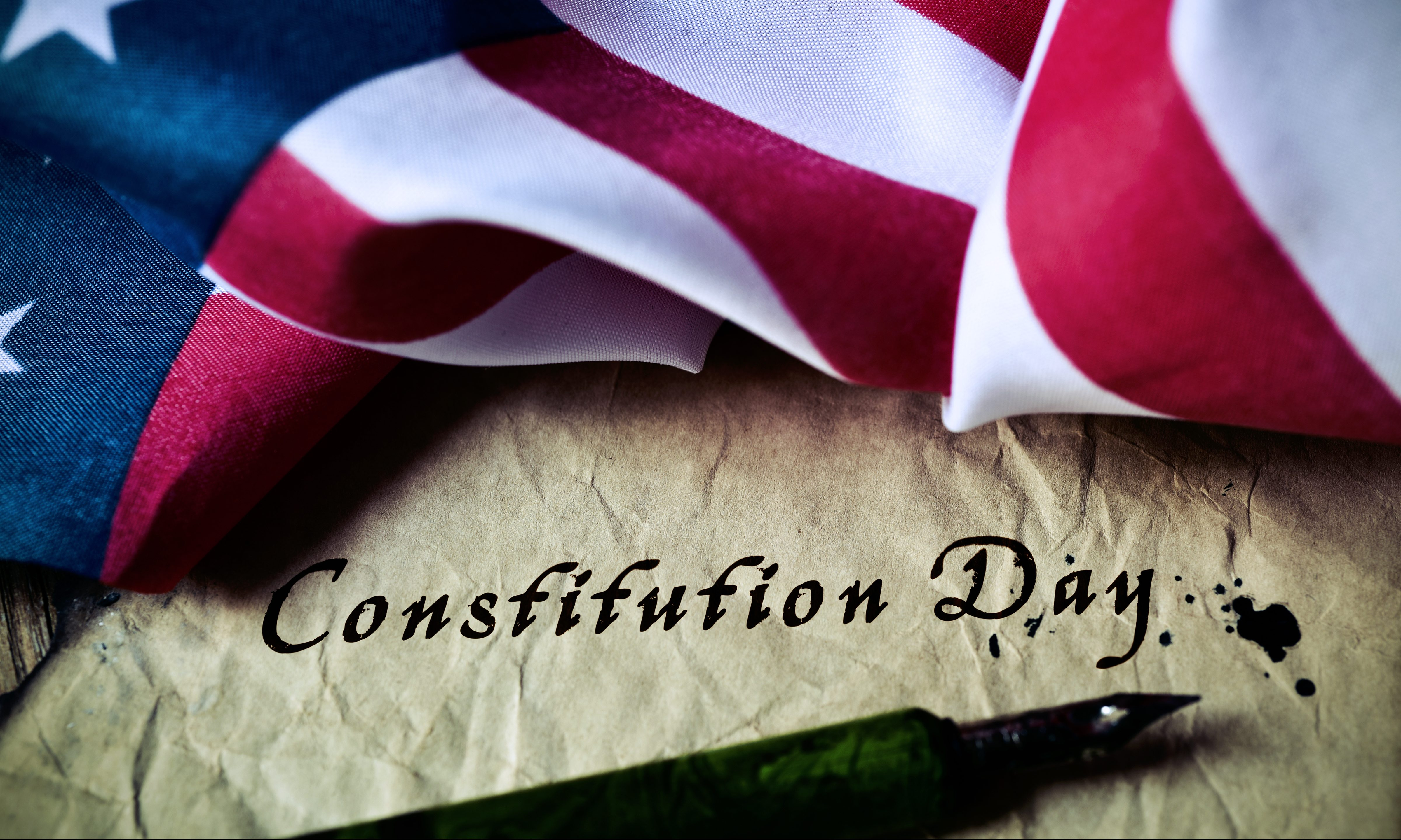 Opening line of the United States Constitution