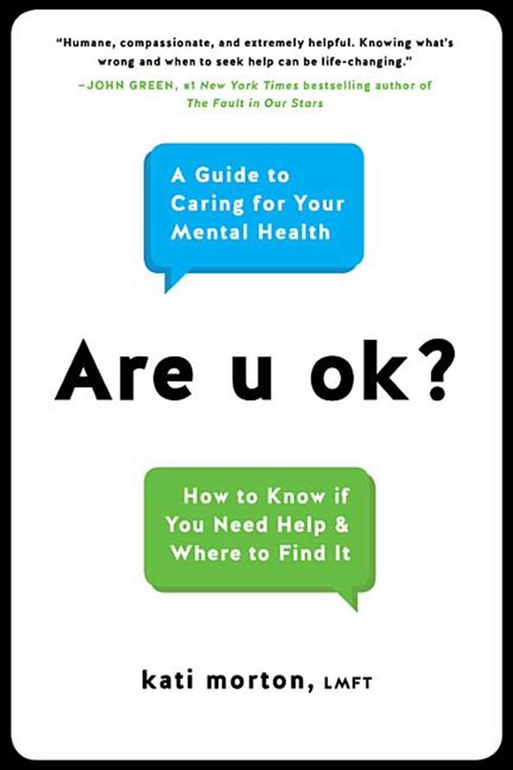 Are u ok? : a guide to caring for your mental health / Morton, Kati