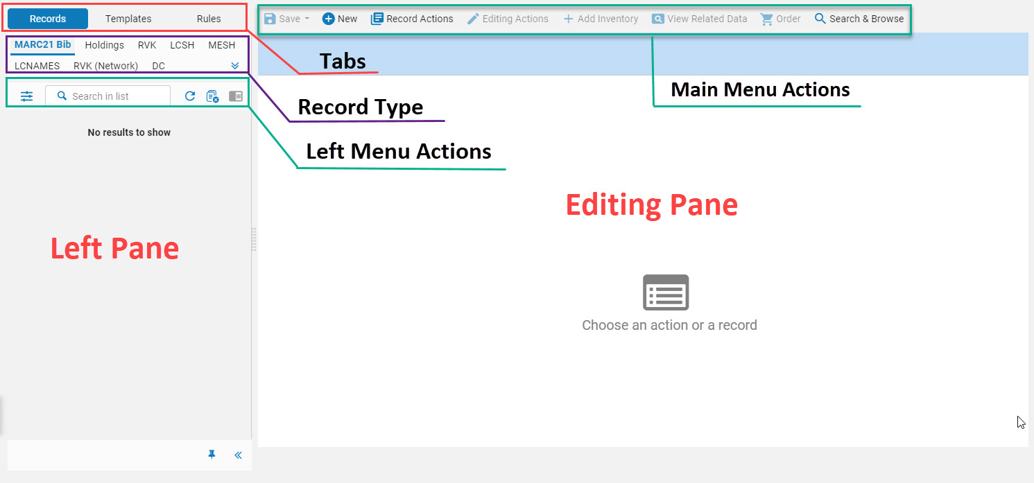 MD Editor Visual Layout Overview