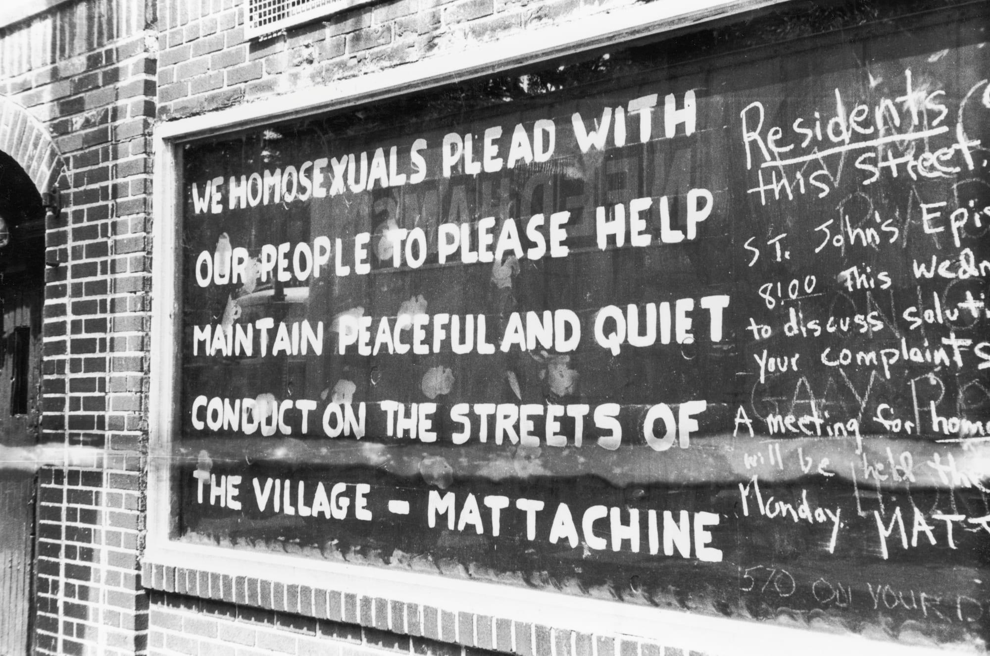 The Mattachine Society