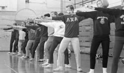 Penn, Frank A., Jr.; Gymnasiums; Fencing