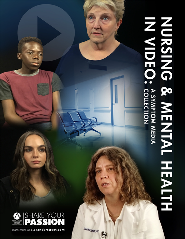 Nursing and Mental Health in Video Brochure Image