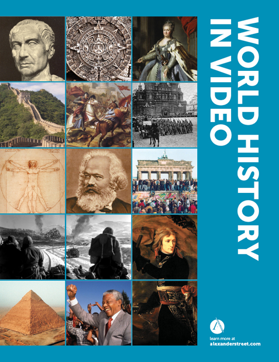 World History In Video Brochure Image