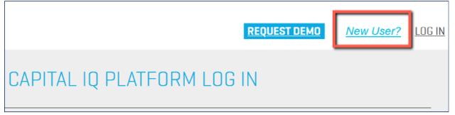 New User?