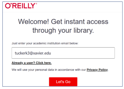 Enter your academic institution email below.