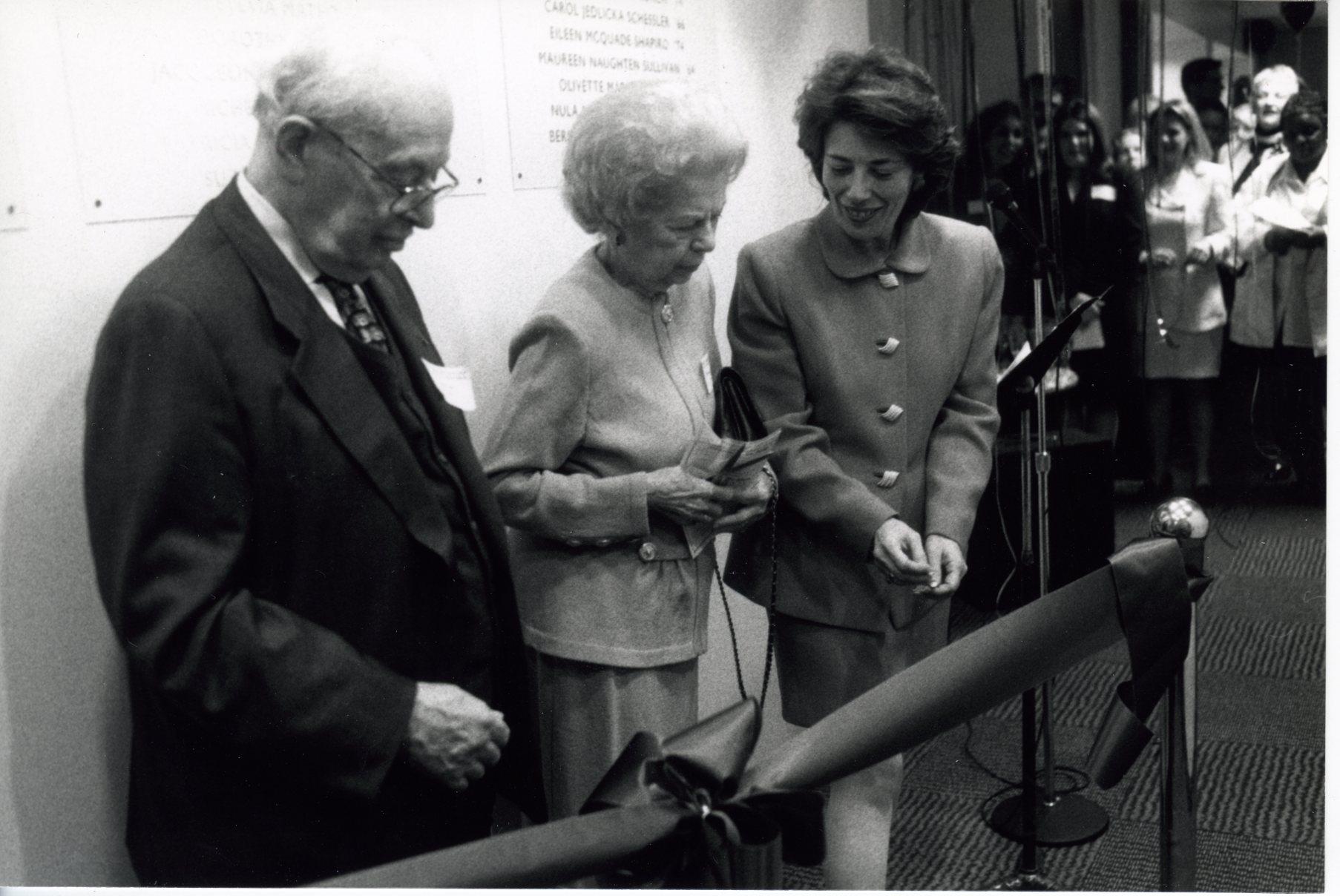 Lang Center for Producing Dedication 1998