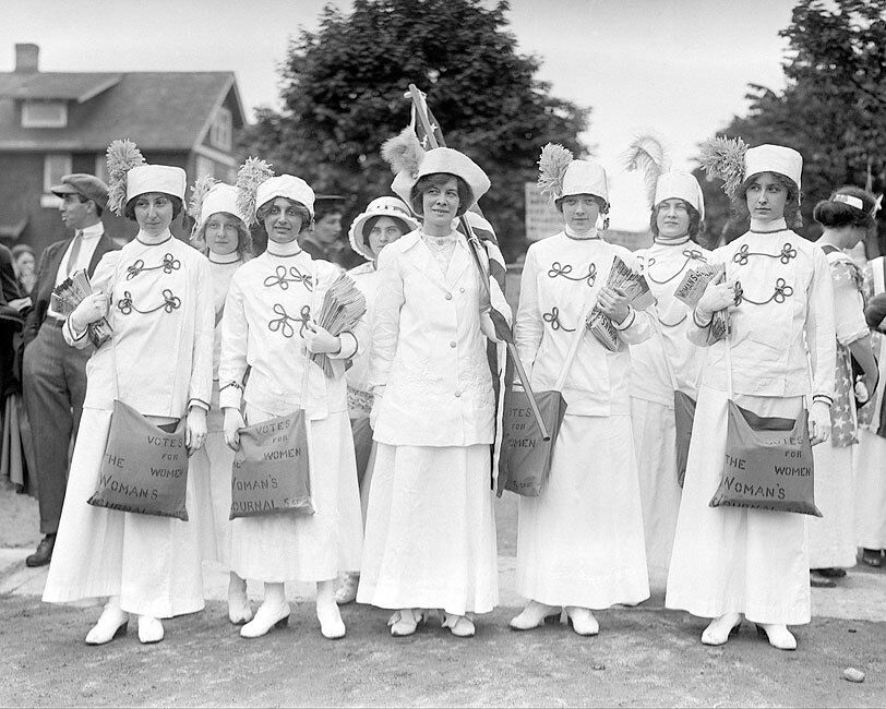 Votes For Women March 1910-1915