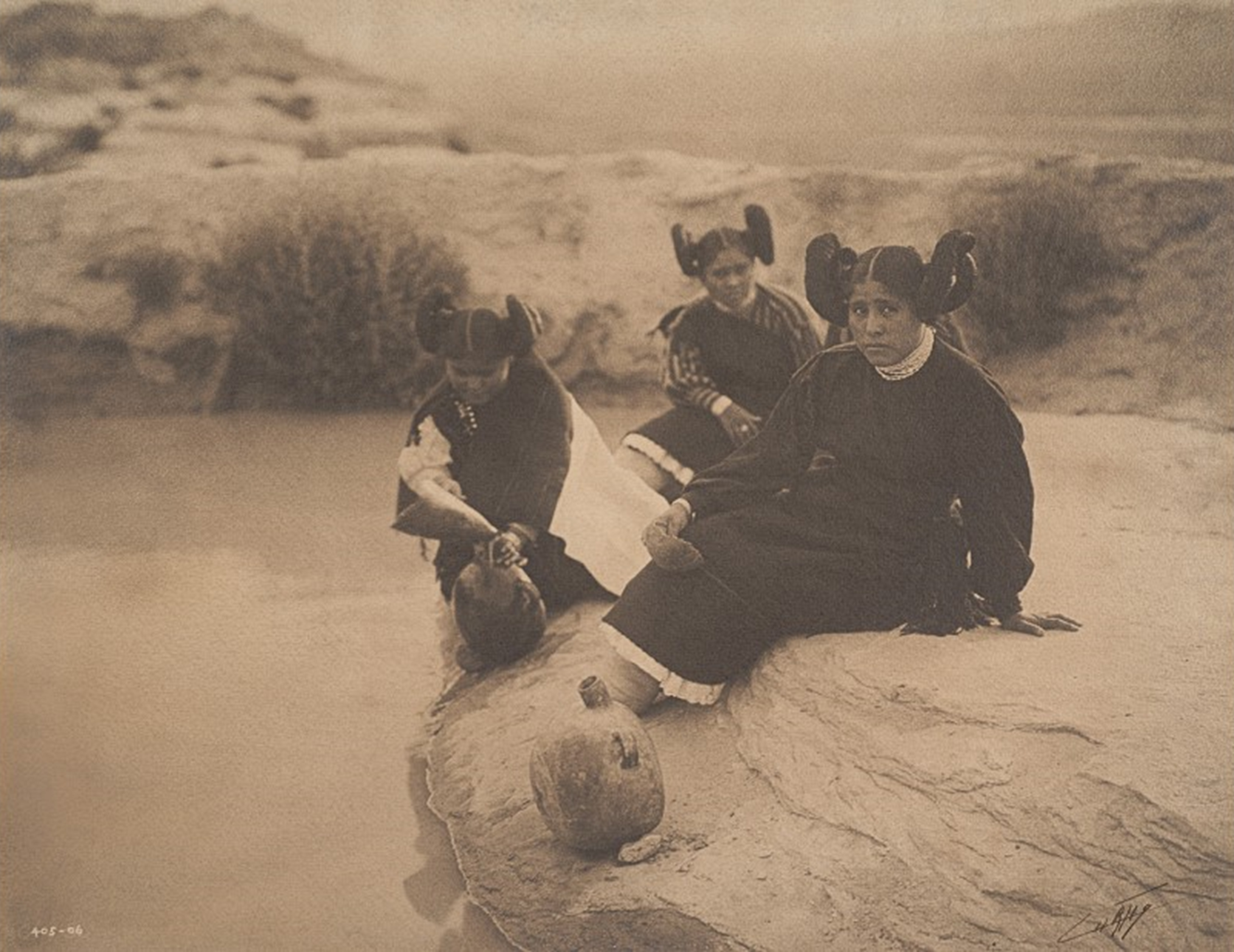 An Evening in Hopi Land (Edward S. Curtis, 1906)