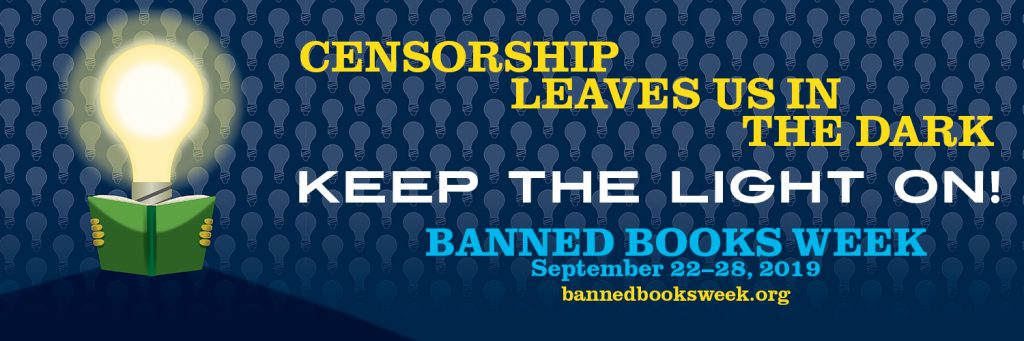 Censorship Keeps us in the Dark banner