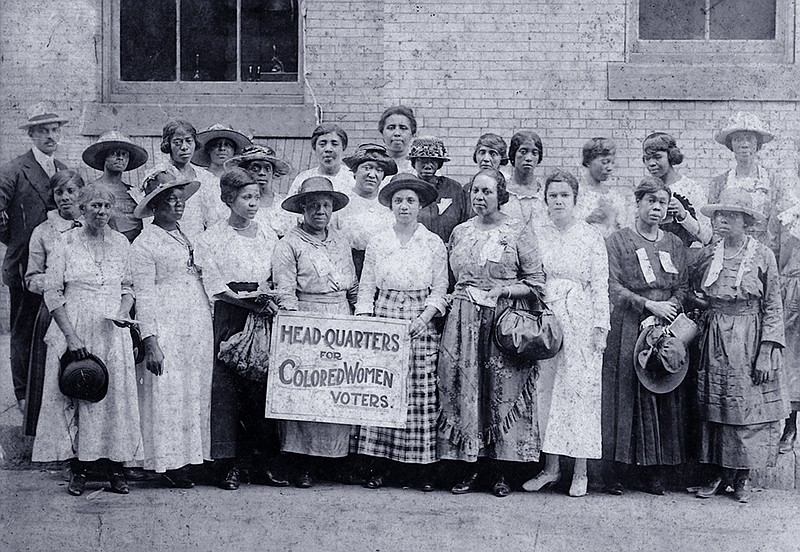 Head Quarters for Colored Women Voters
