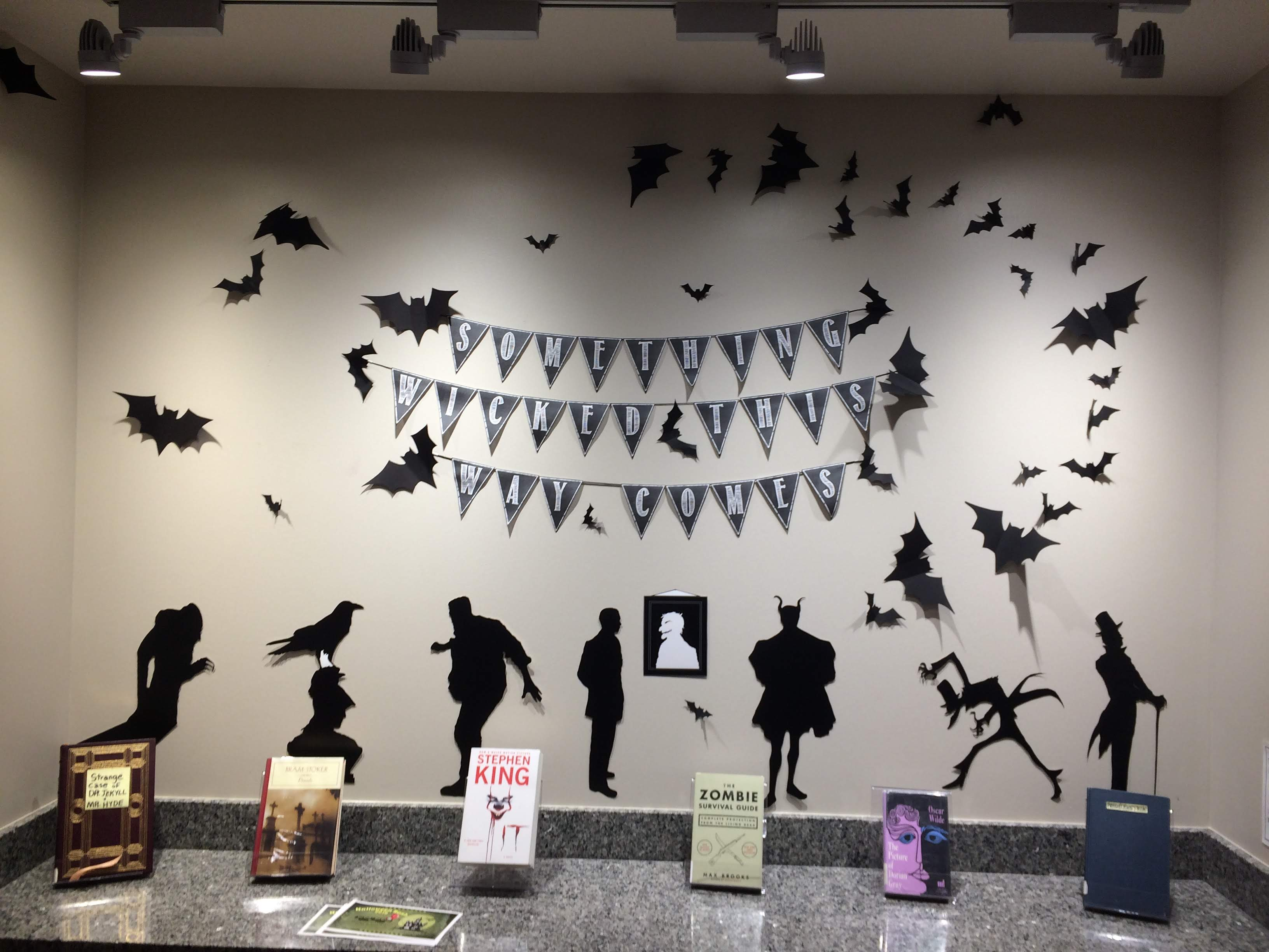 Rose State College Halloween Display 2019