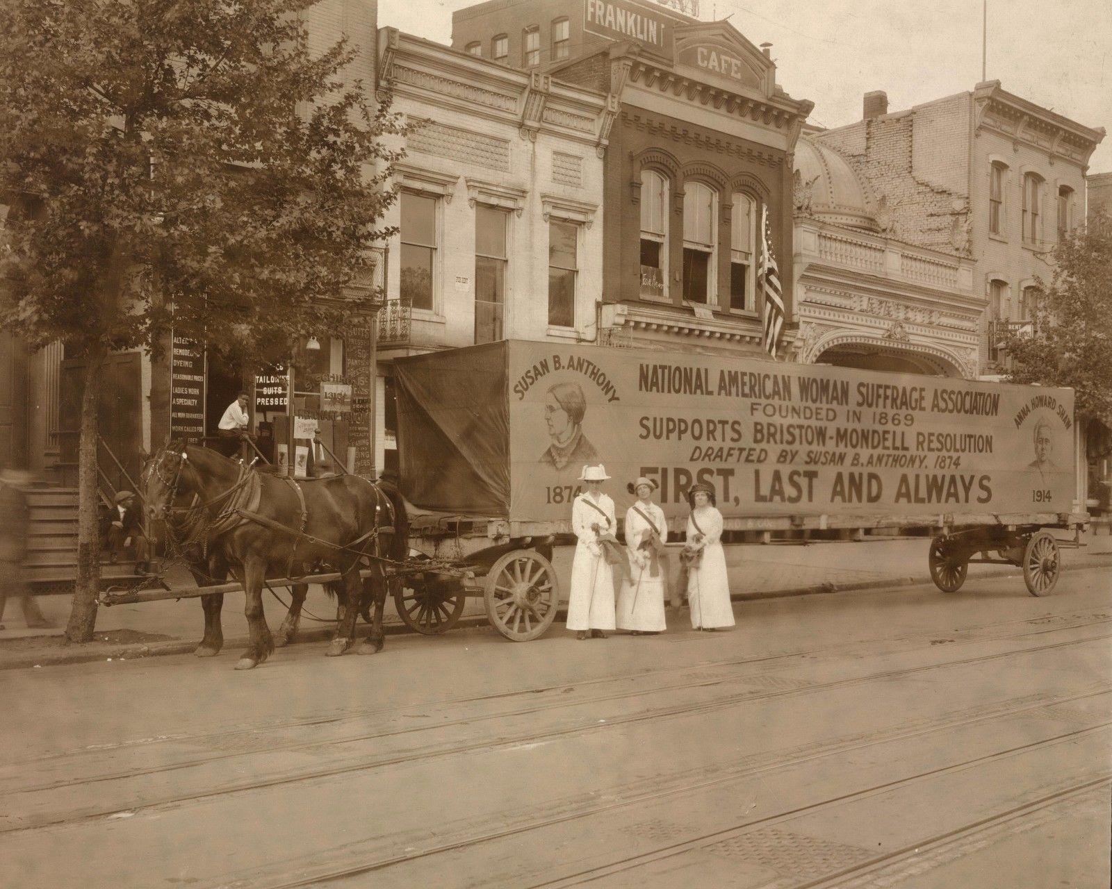 NAWSA Parade Float 1914