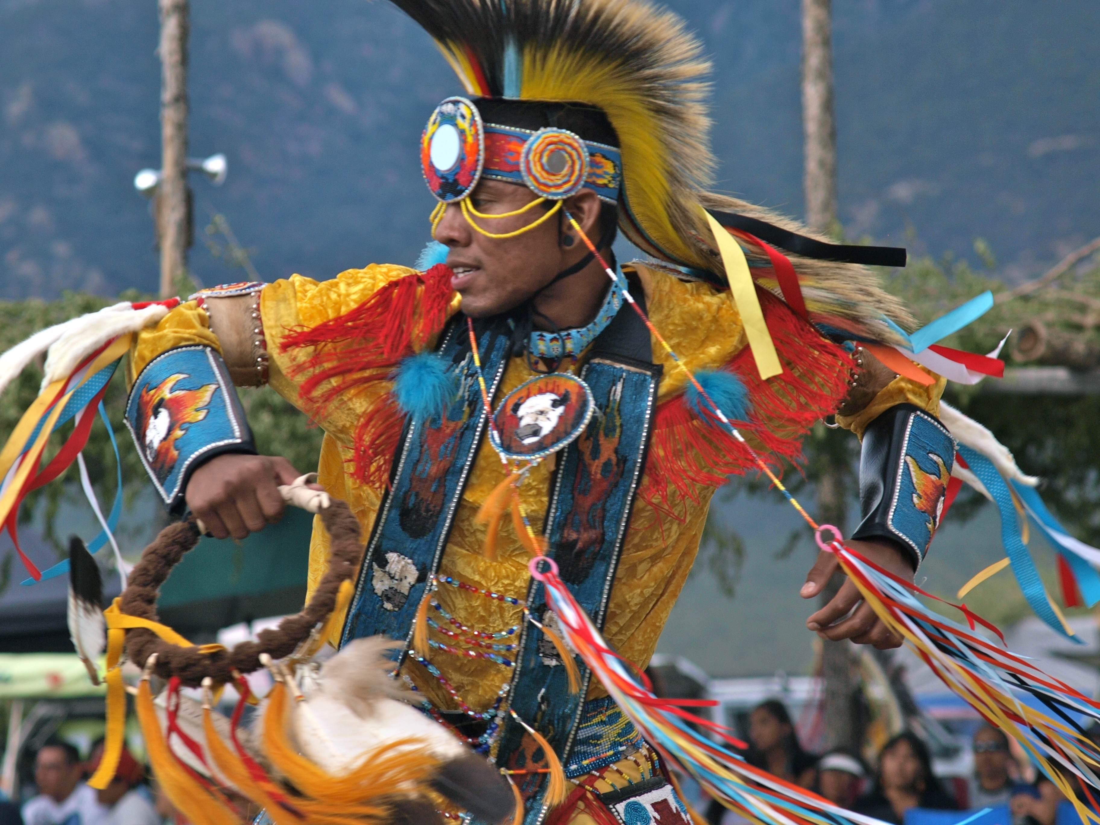 Grass Dancer Taos Pueblo Powwow, NM (2011)