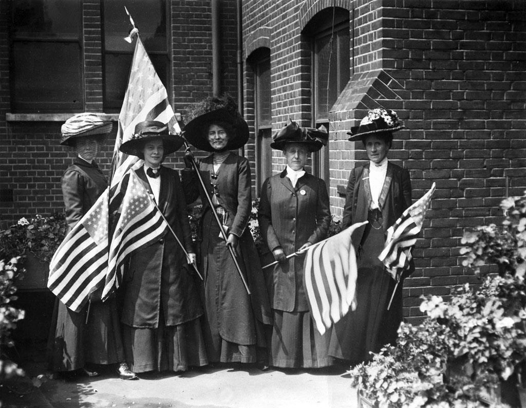 Womens Suffrage 1911