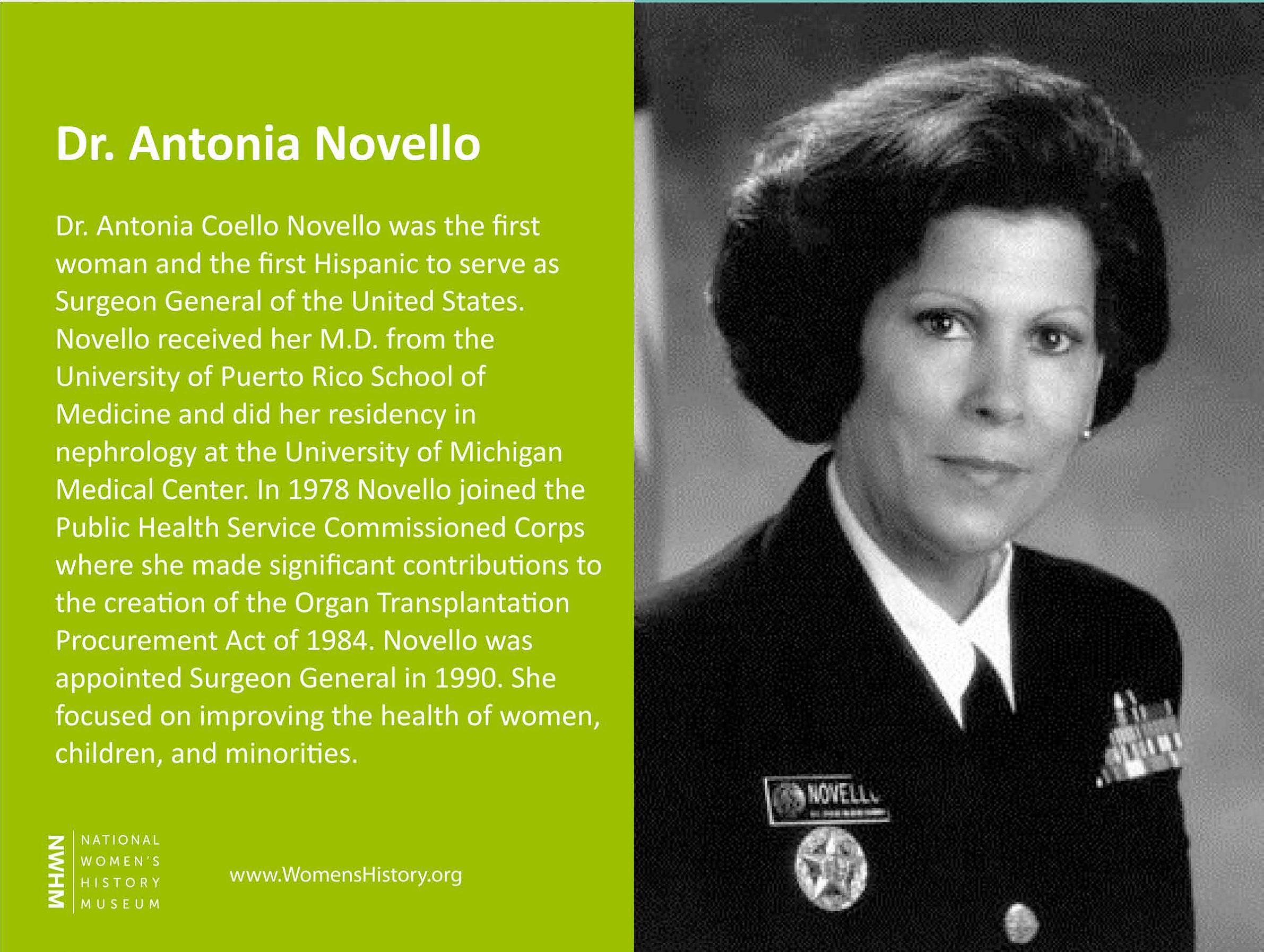 Dr. Antonia Novello