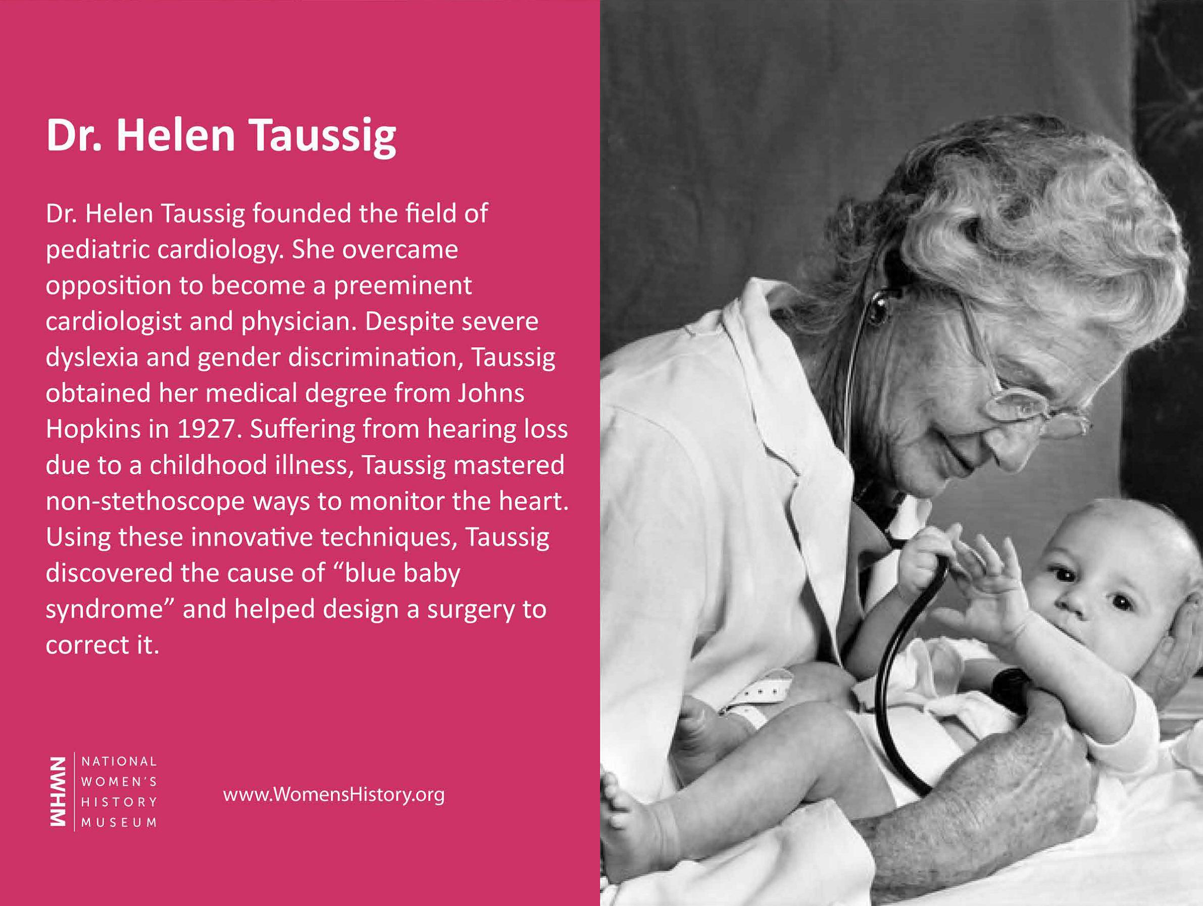 Dr. Helen Taussig