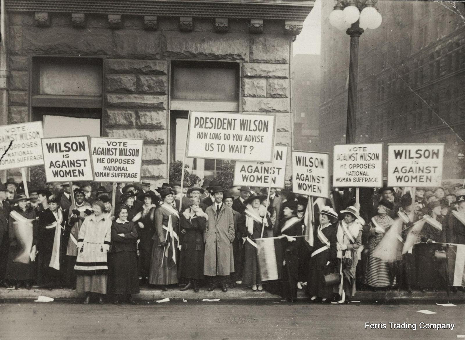 Protesters for Suffrage