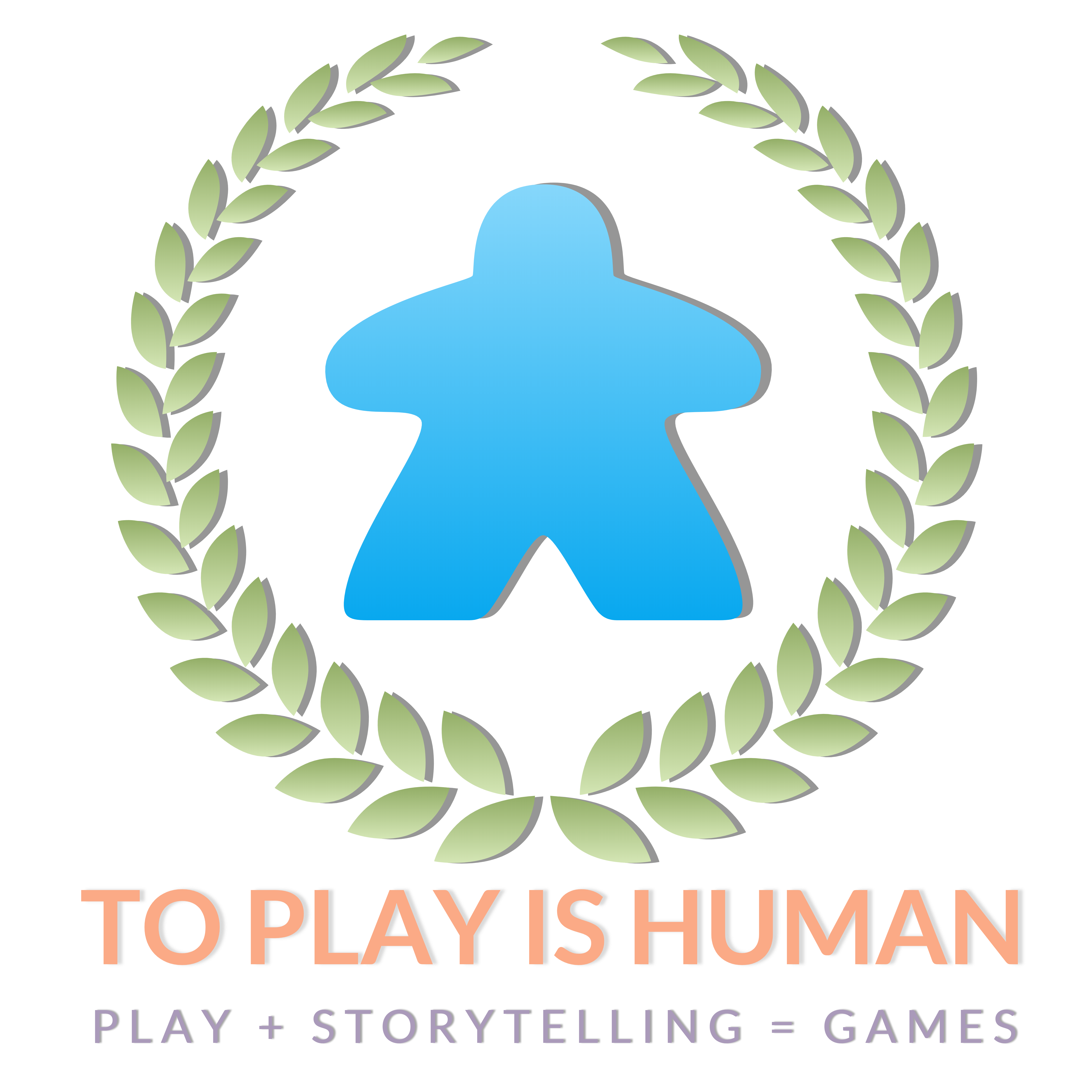 To Play is Human logo