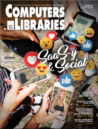 Cover of Computers in Libraries Sept 2019 issue