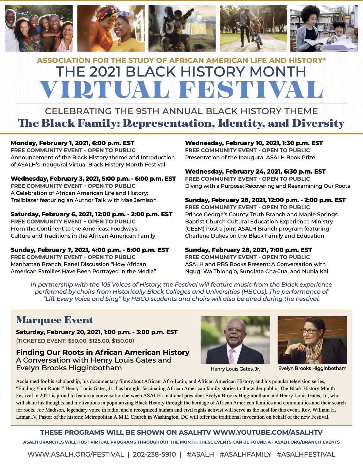 2021 Virtual Black History Month Festival