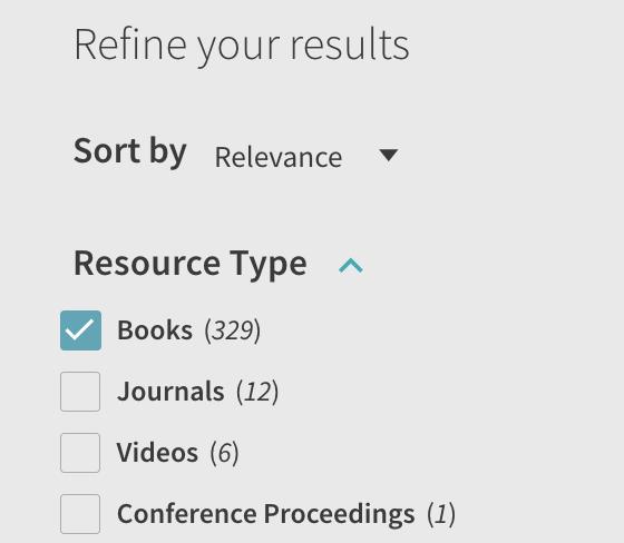 Screenshot of Book limiter