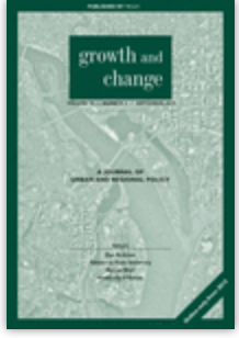 Cover of the journal Growth and Change