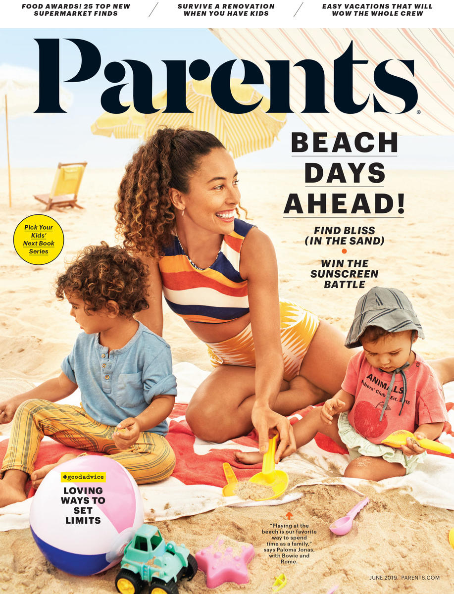 Cover of the magazine Parents