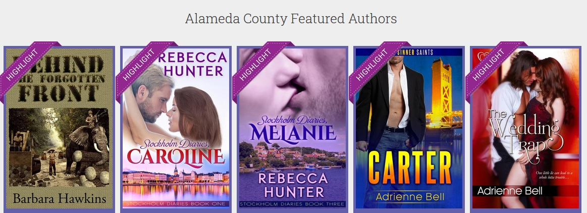 Alameda County Featured Authors Anthology Dashboard