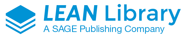 The Lean Library Logo. Lean Library is owned by the SAGE Publishing Company.
