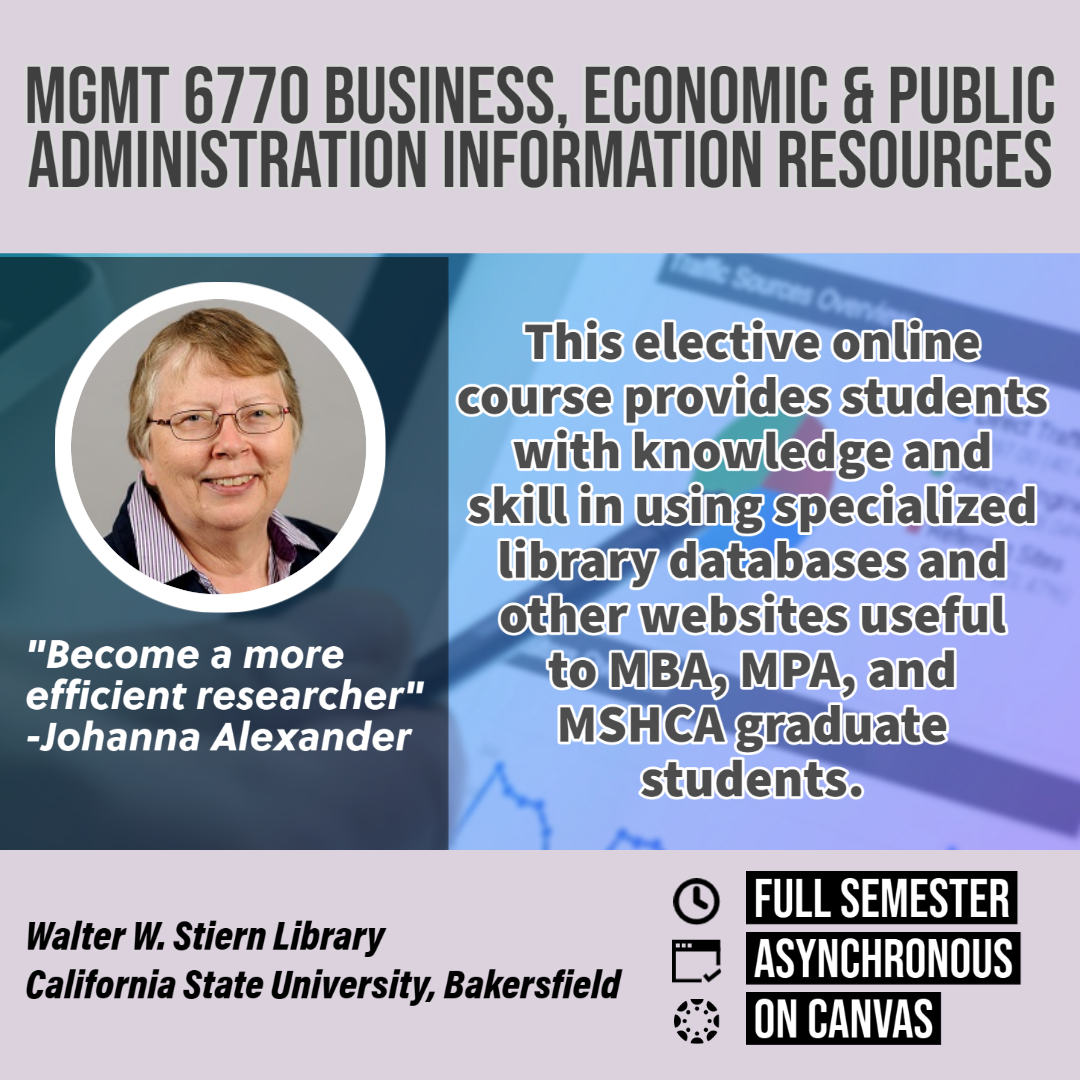 MGMT 6770 Business, economic, course